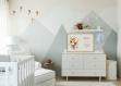 Affiche giraffe avec prénom personnalisé cadeau naissance pour décoration chambre enfant