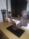 Lampe à poser en bois flotté teinté design, lampe en bois, lampe artisanale, lampe fait main, lampe originale, lampe contemporaine