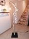 Lampadaire bois flotté, lampe à pied bois flotté, lampe fait main, lampadaire artisanal