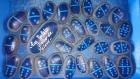 Collection jeu de dominos en galets peints