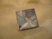 Bague carrée en mosaïque