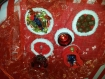 Coupelle décorative ou sous verre de noël