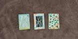3 cartes florales