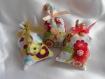 Sachet lavande de provence collection bohème folk tissus multicolores