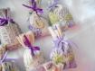 Mini sachet de lavande provençale collection hymne à la lavande ...