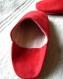 Chaussons confortables en belle matière et fabrication artisanale