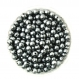 50 perles 6mm imitation brillant couleur gris creation bijoux, bracelet
