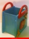 (+872) sac à main colibris/coeur/rose