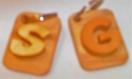 (+874) porte clés alphabet