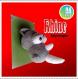 Trophée rhinocéros