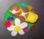 Bébé fleuri