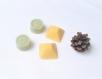 Déodorant naturel en barre parfum menthe +  coco et orange - lot de 4 mini déodorant