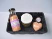 Coffret personnalisable - bien-être - assortiment : bombe de bain, gommage, baume à lèvres, etc - personnalisable