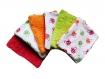 Lingettes lavables éponge et coton lot de 10
