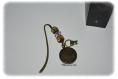 Marque-pages bronze clé,