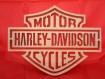 Logo harley motor cycles en bois découpé