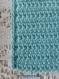 Etui crochet bleu pour portable ou lunettes