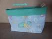 Vide poche / boite de rangement / pochon en trio pour chambre de bébé