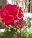 Pendentif alu coeur rose