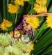 Pendentif alu lilas