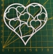 Scrapbooking découpe coeurs dans coeur