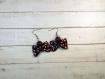 Boucles d'oreilles breloques farfalles différents coloris en fimo