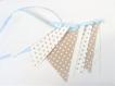 Guirlande de fanions pour décoration chambre bébé ou enfant