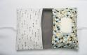 Pochette pour couches et lingettes - pochette de rangement bébé géométrique