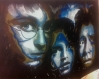 Dessin harry potter, hermione granger et ron weasley