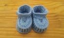 Chaussures garçon crochet (0-3 mois)