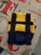 Sac a dos minion crochet