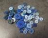 Lot de boutons bleus pour créer