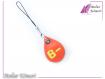 Bijou pour portable goutte de sang b négatif modèle 2