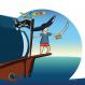 Le pirate prend la mer