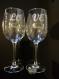 Verre à vin 35 cl personnalisable - gravure des prénoms et date pour un mariage