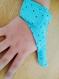 Cache pouce etoiles bleue fermeture scratch les aider pour arrêter de sucer leur pouce