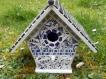 Nichoir décoré en mosaïque faïence et grès traité extérieur