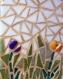 Nichoir décoré en mosaïque