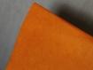 Feuille de papier népalais  50/70 cm orange