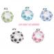 Perles spacers strass pr bracelet charm 10x6mm n3