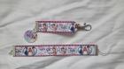 Porte clés et bracelet petite fille violetta