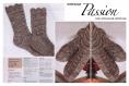 Modèle chaussette en tricot fait main pour femme.pattern ,tutoriels anglais en format pdf