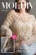 Modèle pull dentelle au crochet pour femme schéma et diagramme tutoriels anglais