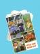 Vintage.amigurumi,petite livre - patron « scène amigurumis «  au crochet.diagrammes,tutoriels en français format pdf