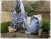 Tote bag - sac réversible - grande taille