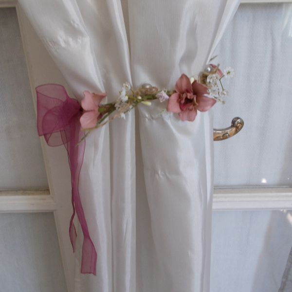 Embrases rideaux shabby chic : par mariage
