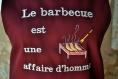 Tablier homme le barbecue est une affaire d'homme