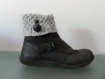 Boot cuffs, guetres, grises perles fantaisies boutons