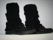 Jambieres, guetres, chaussetes noires classiques et tendances