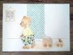 Collection gribouille & zebulon - affiche chambre d'enfant style scandinave